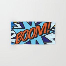 Comic Book BOOM! Hand & Bath Towel