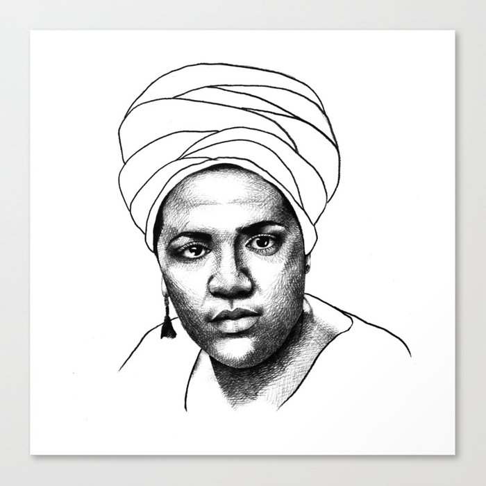 Audre Lorde Canvas Print