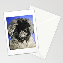 Peke Daisy Dukes Stationery Cards