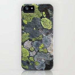 Lichens iPhone Case