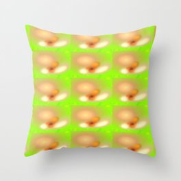 0607 Blossoms, seen with cataract ... Throw Pillow