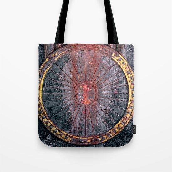 Circle vintage Tote Bag