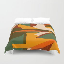 A New Way Of Seeing Abstract Landscape Duvet Cover