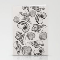 shells Stationery Cards featuring shells by sustici
