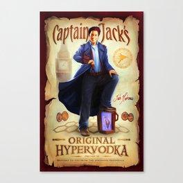 Captain Jack's Original Hypervodka Canvas Print