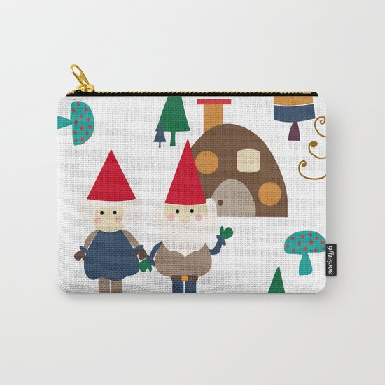 Gnome white Carry-All Pouch