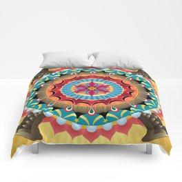 Virgin of Guadalupe Mandala Comforters