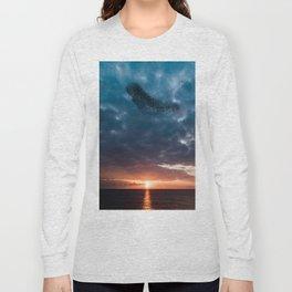 Murmuration of starlings Long Sleeve T-shirt