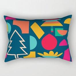 Funny Christmas games Rectangular Pillow