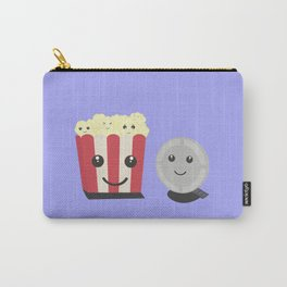Cinema movie pocorn with faces Carry-All Pouch