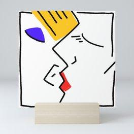 kiss Mini Art Print