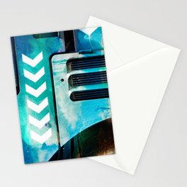 Road Roller Chevron 03 - Industrial Abstract (everyday 19.01.2017) Stationery Cards