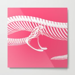 Pink Bite Metal Print