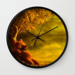 """""""Momentos en el Arbol"""" Wall Clock"""