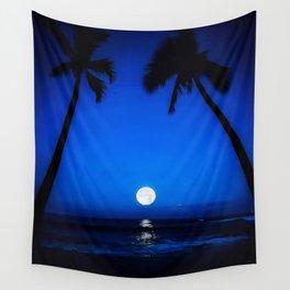 Blue Hawaii Wall Tapestry