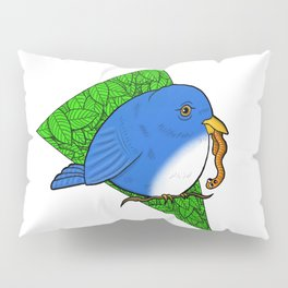 The Early Bird Gets the Worm Pillow Sham