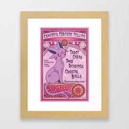 Fortune Telling Framed Art Print