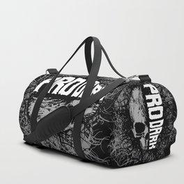 Pro Dark Duffle Bag