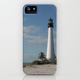 Cape Florida Light House iPhone Case