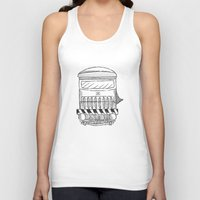 train Tank Tops featuring Train by Ocso