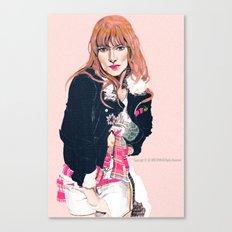 Oliva Wilde Canvas Print