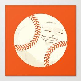 Happy Baseball Canvas Print