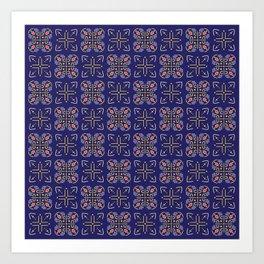 Royal [abstract pattern A] Art Print