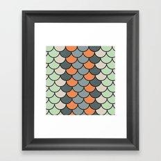 Planted Color Framed Art Print