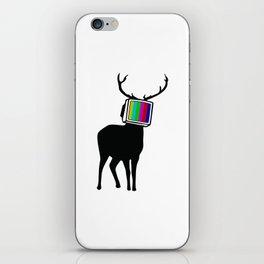 Deer TV iPhone Skin