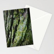 moss, bark Stationery Cards