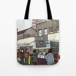 A stroll down Broadway Market Tote Bag