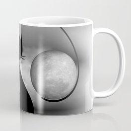 dreaming of mooncats bw -3- Coffee Mug