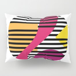 Geometric prison Pillow Sham