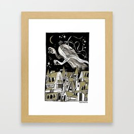 GOLDENSTONE Framed Art Print