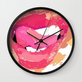 Vectored Narcissism Wall Clock