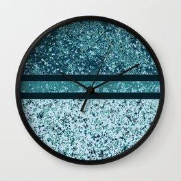Vintage Terrazzo Aquas Wall Clock