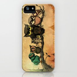 Midnight Owls iPhone Case