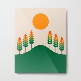Field Study Metal Print