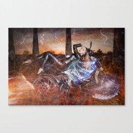 Hells Angel Canvas Print