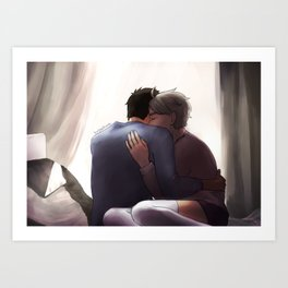 I'll love you long after you're gone Art Print