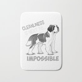 Cleanliness Is Close To Impossible Bath Mat