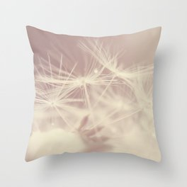 Fragile life Throw Pillow