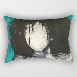 Naturally Queen I TEAL Rectangular Pillow
