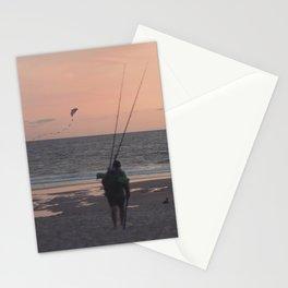 der fischer kommt von daheim  Stationery Cards