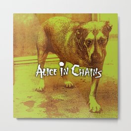 alice in chains doggy tour 2020 2021 ngamein Metal Print