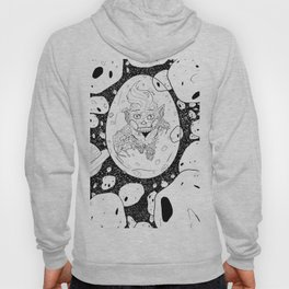 Grain And Bubble In An Asteroid Field Hoody