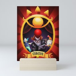 Fan Art Circus Mini Art Print