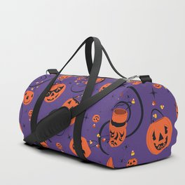 Halloween Magic- Purple Duffle Bag
