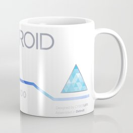 Connor's Android Jacket Coffee Mug