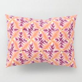 Raspberry Orange Repeat Pillow Sham
